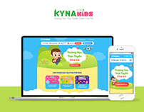 Kyna For Kids visitor page