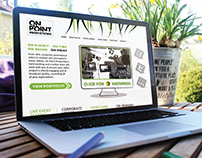 'On-Point Productions' Brand Identity & Website Design