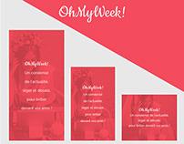 Web banners – OhMyWeek