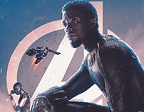 infinity war series posters