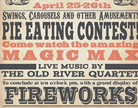 Victorian Typography Poster