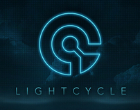 LIGHTCYCLE - TRON Typeface