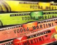 Vodka Martini Skinny Freezers