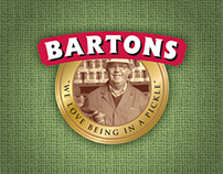 Bartons Pickles Website
