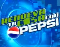 Renueva tu casa con Pepsi.