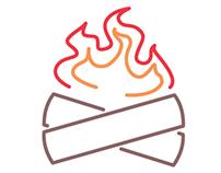 Happy Camper Logo Conception