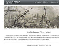 Studio Legale Silvio Monti Web Site