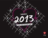 kalendarz WOŚP / WOŚP calendar - 2013