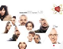 kalendarz WOŚP / WOŚP calendar - 2012