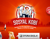 Akbank Sosyal Kobi // Game Art & Animations