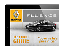 Test Drive  Renault Fluence | iPad Game