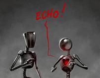 """Comic Strip """"Echo"""""""