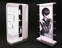 Vidal Sassoon retail furniture