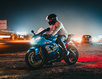 Suzuki GSXR1000R / By Sourav Mishra