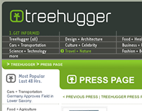 UX + UI Design: TreeHugger