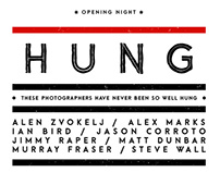 Hung Exhibition Poster