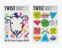 Twist Fibre Festival - Visual Identity
