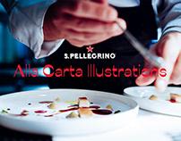 San Pellegrino - Alla Carta Illustrations