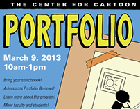 Portfolio Day Poster