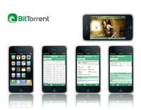 BitTorrent iPhone Application
