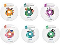 Diseño de colección de DVD educativos