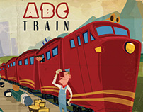 ABC Train front and back cover