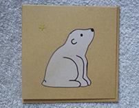 Polar Bear Christmas Card - 2012