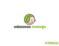Childhood ecology logo design