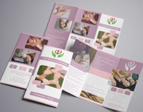 Gerontology A4 Trifold Flyer