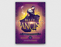 Belly Dancing Flyer Template