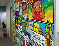 Wall Design for NEXG Office