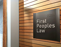 First Peoples Law - Experiential Graphics