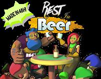 3D - Rest in Beer (Gamejam Game)