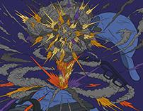 Single Cover Illustration for Triple T|三小湯 數位單曲封面繪製