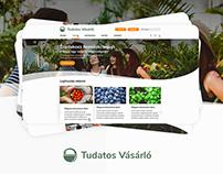 Tudatos Vásárló weboldal