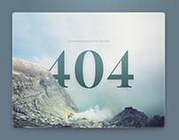 Weekly UI challenge #02 - 404