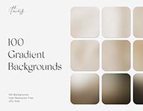 100 Gradient Backgrounds Grain Noisy Texture Download
