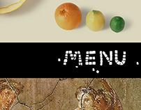 Hortus Pompei / menu