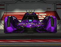 FLYING PURPLE PAVEMENT EATER