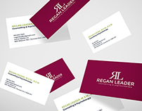 Regan Leader - Business Cards & Website