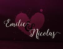 Mariage Emilie & Nicolas
