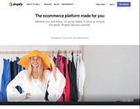 Shopify Singapore Homepage (Photography)