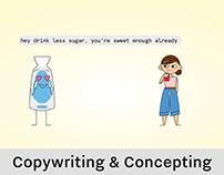 CONCEPTING: CoAqua Advertising Campaign
