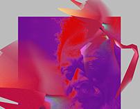 Jazz Graphic Exploration - Pharaoh Sanders
