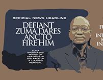 Editorial illustration for political blog