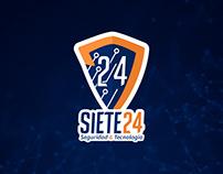Siete24 Branding