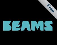 Beams (Free Font)