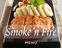 Smoke 'N Fire Menu