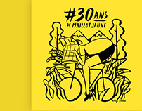 Les 30 ans de Maillot Jaune by Quentin Monge