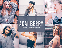 Free Acai Berry Mobile & Desktop Lightroom Presets